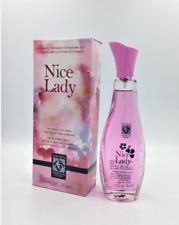 Lot of 3 Nice Lady Women's Eau De  Compara com Anais Anais by Cacharel 2.5 oz ea