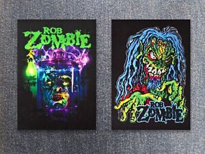 Rob Zombie patch sew on printed textile patch shock hard rock heavy groove metal