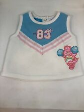 CARE BEARS 18mo TODDLER YOUTH Cheerleading Top