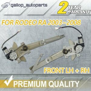 FRONT RH Right + Left LH Window Regulator w/ Motor For Isuzu D-Max DMax 06~12