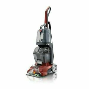 HOOVER Power Scrub Deluxe Deep Cleaning Made Easy Red FH50150NC