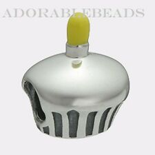 Authentic Chamilia Sterling Silver Cupcake Bead NA-19 **RETIRED**