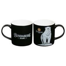 125105 Bundaberg Bundy Rum Bear 400Ml Matte Black Bone China Coffee Tea Mug Cup
