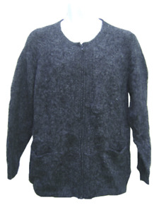 WHOLESALE LOT OF 10 COMFORTABLE 100% ALPACA INDU SWEATERS WITH FRONT ZIPPER