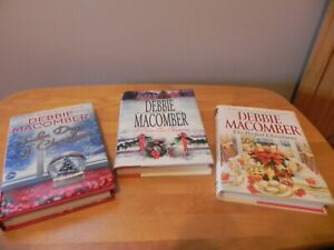 Debbie Macomber Christmas Book's ~ Lot of 3 ~ Hardcover