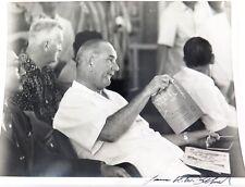 .RARE SIGNED JAMES K. W. ATHERTON PHOTOGRAPH OF PRESIDENT LYNDON B JOHNSON