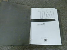 John Deere 410 Backhoe Loader Shop Service Repair Technical Manual Book TM1037
