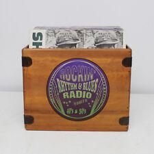 Rhythm & Blues Record Box Album Crate 12 Inch Vintage Vinyl LP