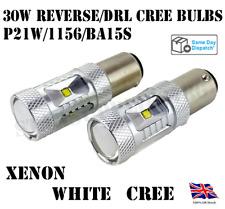 2X 1156/BA15S/382/P21W CREE LED WHITE CANBUS REVERSE/FOG/DRL BULBS AUDI BMW VW