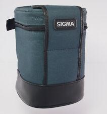 Köcher für Objektiv grün Leder Quiever green leather for lens - 32979