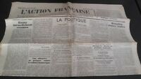 Journal Nationalist L Action Figure French 7 June 1934 N° 158 ABE
