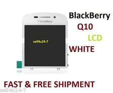 NEW OEM BLACKBERRY Q10 WHITE FULL LCD DISPLAY TOUCH SCREEN DISPLAY Canada seller