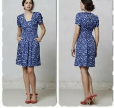 NEW Hi There Karen Walker Blueprint Bloom Dress Size 8 Petite