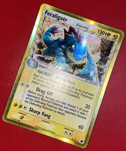 Pokemon Feraligatr 2/101 - Dragon Frontiers Delta Species Holo