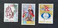 NEPAL - 1974, 1980, 1981 Lot of 3 stamps - King Janak & World Tourism Conference