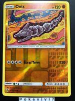 Carte Pokemon ONIX 109/214 REVERSE Soleil et Lune 8 SL8 FR NEUF