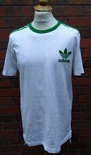 """Para Hombre Adidas Trefoil Retro Camiseta Ajustada 44"""" De Alto"""