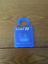 R Sim 11 Card Unlock iPhone 7-5s 6Plus iOS 10-7.x. USA SELLER