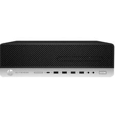 HP EliteDesk 800 SFF G5 I7-9700 512gb NVMe SSD 16gb Ramwin 10 Pro P/n 7YH27PA