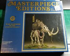 Ral Partha War Mammoth Grenadier AD&D Masterpiece Edition Metal Rare Lot #2