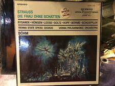 SEALED 4 LP Set  STRAUSS:  DIE FRAU OHNE SCHATTEN  VIENNA PHILHARMONIC