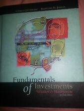 Fundamentals of Investing Valuation and Management