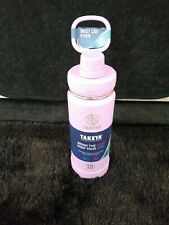 Takeya Actives Water Bottle 18 oz. Lilac Color - New with Tags purple hot cold