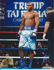 JERMAINE TAYLOR 8X10 PHOTO BOXING PICTURE