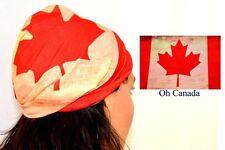 Canadian Maple Flag Scarf Neck Gaiter Tube Balaclava Outdoor Fishing Skin UVP