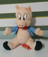 PORKY PIG PLUSH TOY LOONEY TUNES CHARACTER TOY 17CM
