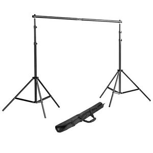 Neewer Photo Mini Adjustable Backdrop Support System Light Stand with Carry Bag