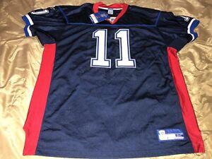 Buffalo Bills Drew Bledsoe #11 NFL Reebok Stitched Jersey Sz 54 *New*
