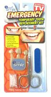 Instant Smile Emergency Temporary Tooth Replacement Kit, Dark Natural Shade