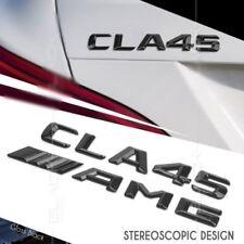 CLA 45 AMG Emblem Glänzend schwarz Zeichen aufkleber Schriftzug Mercedes Benz