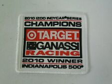2010 Indianapolis 500 & IndyCar Series Winner Target Chip Ganassi Racing Patch