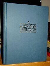 A Goodly Heritage History of Knox Presbyterian Church Oakville Ontario 1833-1983