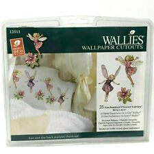 Wallies Enchanted Flower Fairies 25 Cutouts 12511 Complete New In Package