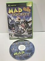 Mad Dash Racing Original Microsoft Xbox Game Complete