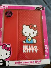 Hello Kitty Folio Case for iPad 2/iPad 3rd Generation, and iPad Retina Display
