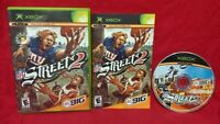 NFL Street 2 Football - Microsoft XBOX OG Game 1 Owner Complete CIB 1-4 Players