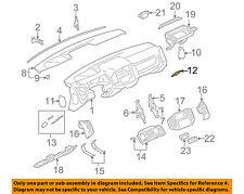 MR512975 Mitsubishi Panel,instrument corner,lwr rh MR512975, New Genuine OEM Par