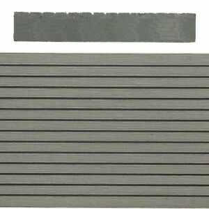 SAiGE Composite Decking - Grey - Solid - 143mm X 23mm X 3.6m