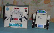 vintage Tomy battery-operated FLIPBOT robot in Japanese version box KOMS-B