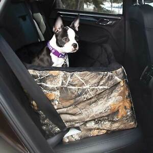 """K&H PET PRODUCTS 7620  Camo REALTREE BUCKET BOOSTER PET SEAT SMALL CAMO 20"""" X..."""