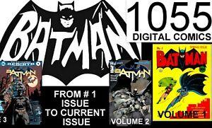 """BATMAN  "" THE ULTIMATE DIGITAL COLLECTION OF 1055 COMICS"