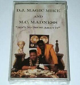 DJ MAGIC MIKE MC MADNESS SEALED TAPE CASSETTE BOOMBOX RAP HIP HOP G FUNK lp nwa