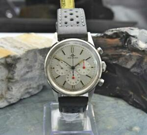 Vintage 35mm Movado Chronograph M95 Sub Sea Ref 19038 Stainless Steel Watch