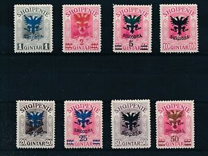 [33527] Albania 1920 Good lot Very Fine MH stamps