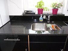 Küchenarbeitsplatte Platte Arbeitsplatte Kücheninsel Nero Impala Stein dunkel