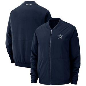 Dallas Cowboys Nike Sideline Bomber Full-Zip Performance Jacket - SUPER SALE!!
